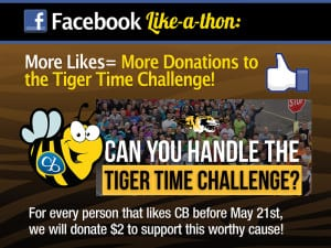 Digital - facebook tiger time challenge