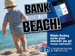Digital - bank beach