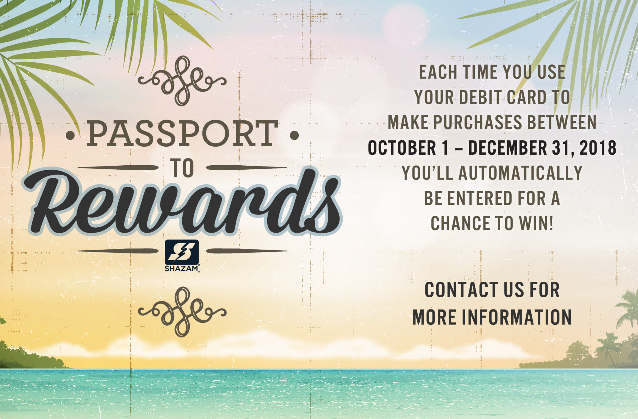 Shazam Passport to rewards